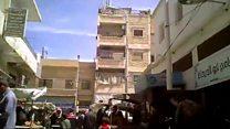 """Кадри із Ракки: як столиця """"ІД"""" готується до наступу"""