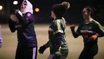 The hijab wearing Gaelic footballer