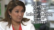 'Jeremy Corbyn will stay leader if he loses'