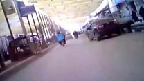 Жизнь в Ракке перед наступлением: съемка скрытой камеройя