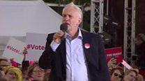 Jeremy Corbyn: They underestimated us