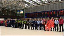 یک دقیقه سکوت به یاد بازماندگان حمله شنبه شب لندن