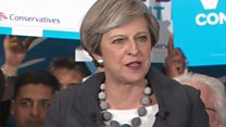 May: 'Human rights laws could be changed'