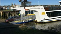 Car bumpers still scraping on new troubled Cowes chain ferry