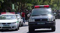 إيران: صور وعلومات أوليه عن هجوم طهران