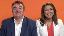 Election blind dates: Tommy Sheppard and Ayesha Hazarika