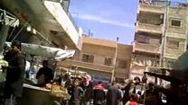 Imágenes exclusivas de Raqa antes de la ofensiva