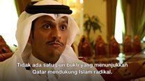 Qatar menjawab tuduhan Presiden Trump