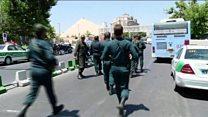 تهران کې وسله وال برید