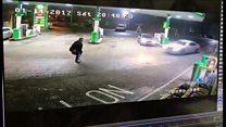 Man hit by car at petrol station