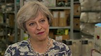 May: Brexit is the basis of everything