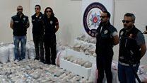 Turkish police seize massive drug haul