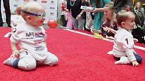 Перегони малюків: хто найшвидший?