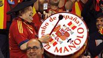 Spain fan Manolo's stolen drum handed in