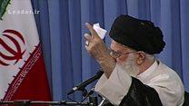 جانبداری رهبر ایران از رقبای دولت
