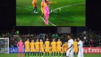 Suudi futbol takımı, Londra'da hayatını kaybedenler için saygı duruşunda bulunmadı