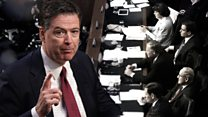 Comey's most revealing moments