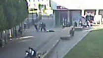 Video shows attack which put man in coma