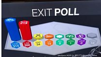 Exit poll shock on social media