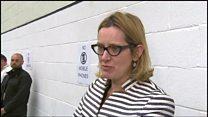 Amber Rudd's nevous wait