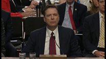 大統領の司法妨害か「自分は言う立場にない」 コーミー氏