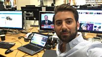 General election: Go behind the scenes with Ricky