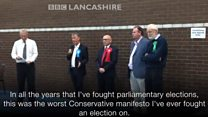 'Worst Conservative manifesto' to blame for losses says Ribble Valley MP