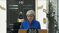 Theresa May forms a government with another party