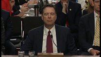 コーミー前FBI長官の証言 最初の10分間