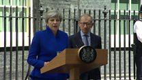 Au, Royaume-Uni, l'électorat inflige un camouflet à Theresa May