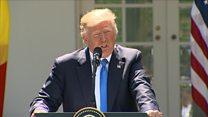 Trump: 'No collusion, no obstruction'