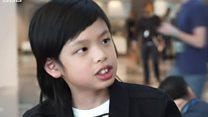 """苹果开发者大会上的10岁""""程序员"""""""
