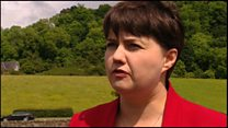 Ruth Davidson: free trade at heart of Brexit'