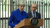 ترزا می، گرفتار پس لرزههای انتخابات؛ دو مشاور ارشد نخست وزیر بریتانیا استعفا کردند