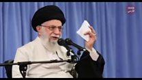"""واکنشها به فرمان """" آتش به اختیار"""" آیت الله خامنه ایی در شبکه های اجتماعی"""
