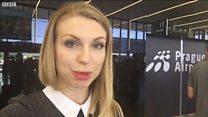 Кореспондентка ВВС України перевіряє безвіз