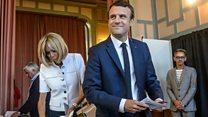 پیروزی حزب مکرون درانتخابات پارلمانی فرانسه، آیا راهها برای او باز می شود؟