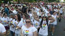 بزرگترین رژه همجنسگرایان آمریکا، بعد از روی کار آمدن دونالد ترامپ