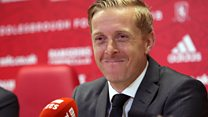 Gary Monk unveiled as Boro manager