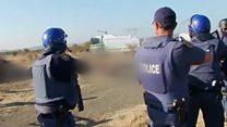 """A Marikana il y a cinq ans, """"la police était déterminée à nous tuer"""""""