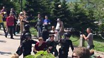 بازداشت صدها نفر در تظاهرات ضد فساد در روسیه