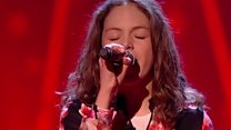 Singer wows three judges on The Voice