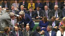 Re-elected Bercow dragged to Speaker's chair