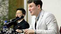 Otto Warmbier at press conference