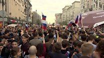 ရုရှား အတိုက်အခံ ထောင်ဒဏ် ရက် ၃၀ ချမှတ်ခံရ