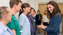 Duchess visits London attack victims