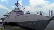 US ship named after Gabby Giffords