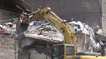 Au Kenya, au moins cinq personnes portées disparues suite à l'effondrement d'un immeuble