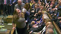 Jokes traded as Speaker dragged to chair