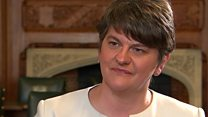 DUP leader: 'Very good discussions'